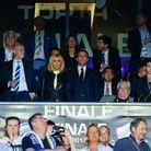Le couple présidentiel a assisté en tribune à la finale du Top14