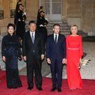 Les couples présidentiels chinois et français