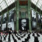 Le Grand Palais aux couleurs de Karl Lagerfeld