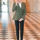 Brigitte Macron au château de Versailles