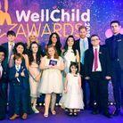 Avec les lauréats des WellChild Awards