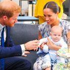 Harry, Meghan et Archie