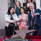 Inauguration de l'étoile de Lucy Liu