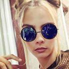 Cara s'amuse avec les filtres Snapchat