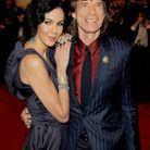 Mick Jagger et L'Wren Scott, les plus rock'n hype