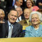 George HW Bush et Barbara Bush
