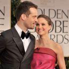 Natalie Portman et Benjamin Millepied aux Golden Globes 2012