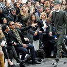 JoeyStarr au défilé Dior Hommes