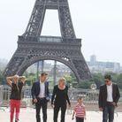 Sharon Stone à Paris