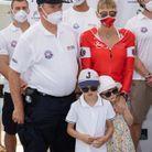 La princesse a participé à la course « The Crossing : Calvi-Monaco Water Bike Challenge »