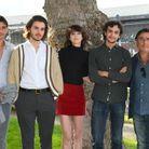 Charlotte Gainsbourg, Yvan Attal, Ben Attal, Panayotis Pascot et Pablo Venzal