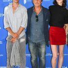 Charlotte Gainsbourg, Yvan Attal et leur fils Ben