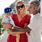 Chiara Ferragni, son mari Fedez et leur fils Leone
