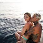 Le couple à Ibiza