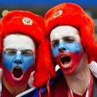 Des supporters russes