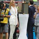 Natalia Vodianova en Louis Vuitton Croisière