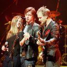 Elle montre sa bague au concert de Sting