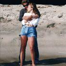 Sur la plage en 1992