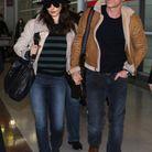 Rachel Weisz et Daniel Craig en janvier 2012 à leur arrivée à Paris
