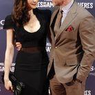 """Rachel Weisz et Daniel Craig en janvier 2012 à la première à Madrid du film """"Millénium : Les Hommes qui n'aimaient pas les femmes"""""""