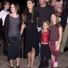 Demi Moore, Bruce Willis et leurs filles en octobre 2001