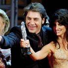 Penélope Cruz et Javier Bardem lors du Prix du cinéma européen en 2004