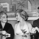 Simone Signoret, Marilyn Monroe et Yves Montand, en 1960