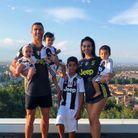 Photo de famille aux couleurs de la Juve