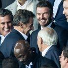David Beckham et Nicolas Sarkozy