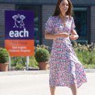 Kate Middleton arrive à l'hôpital pour enfants East Anglia