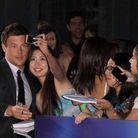 """Cory Monteith lors de l'avant première de """"Glee le concert 3D"""""""