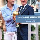 Avec son fils Dylan, Didier Deschamps partage la Coupe du monde