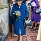 Pour la première fois depuis 17 ans, Elisabeth II a utilisé une canne