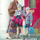 Lady Di et les princes William et Harry, en 1990