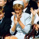 Lady Di et les princes William et Harry, en 1995