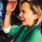Le tatouage d'Emilia Clarke