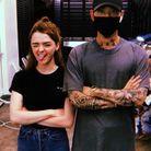 Maisie Williams et son tatoueur