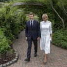 Emmanuel et Brigitte Macron au G7