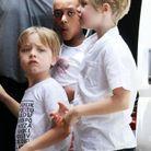 Les enfants de Brad Pitt et Angelina Jolie (sur la photo, Knox Leon, Zahara, Vivienne et Shiloh)
