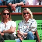 Estelle Lefébure et David Hallyday en 1995