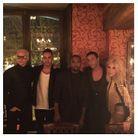 Jared Leto, Lewis Hamilton, Olivier Rousteing, Kanye West et Kim Kardashian