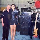 """Victoria Beckham avec son père durant l'époque """"Spice Girls"""""""