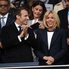Le couple présidentiel très souriant