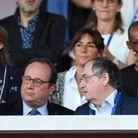François Hollande et Noël Le Graët
