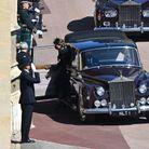 Kate Middleton arrive à Windsor
