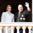 Le prince Albert II et Charlène de Monaco