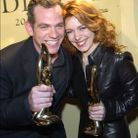 Garou et Isabelle Boulay en 2001