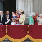 La famille Royale au grand complet
