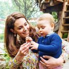 Kate Middleton et le prince Louis