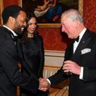 Chiwetel Ejiofor rencontre le prince Charles
